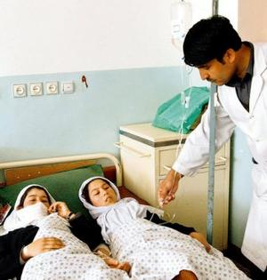 Taliban poisonous gas air attack on Afghan school girls