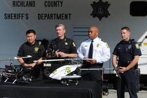 South Carolina police departments unveil aerial drones