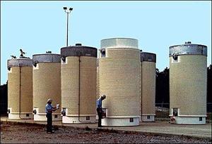 Nuclear matters Earthquake moves Virginia nuclear waste casks