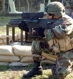U S  Army's XM25 smart grenade launcher described as